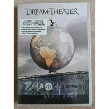 Dream Theater - Chaos In Motion 2xDVD