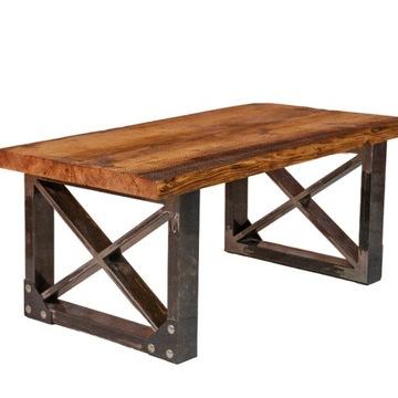 Stolik Kawowy ze starego drewna