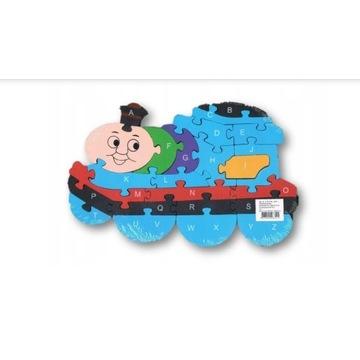 Mega fajne puzzle eco dla dzieci