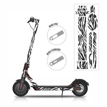 Sticker naklejki grafika na Mijia M365/PRO - Zebra