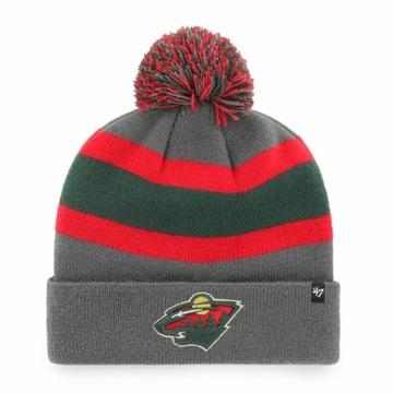 Czapka zimowa NHL Minnesota Wild 47'
