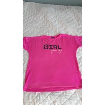 T-shirt 4F rózowy