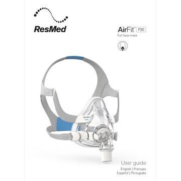 Maska CPAP Resmed AirFit F20 rozmiar Large