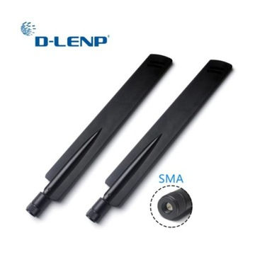 1 para Dlenp 2.4Ghz antena 18 dbi SMA