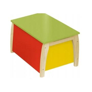 ROBA 50708 Skrzynia Pojemnik na zabawki, siedzisko