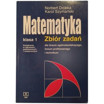 Matematyka klasa 1 zbiór zadań