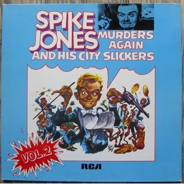 Spike Jones - Murders Again vol.2, EX, 2 LP's
