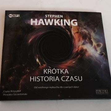 KRÓTKA HISTORIA CZASU AUDIOBOOK, STEPHEN HAWKING