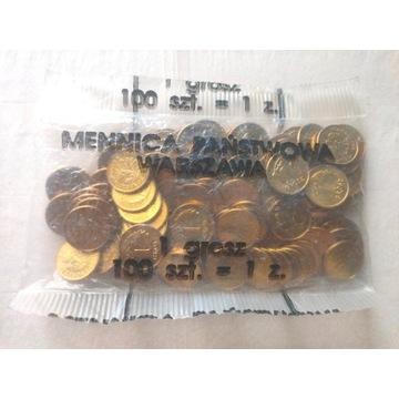 1 grosz 1993 woreczek menniczy