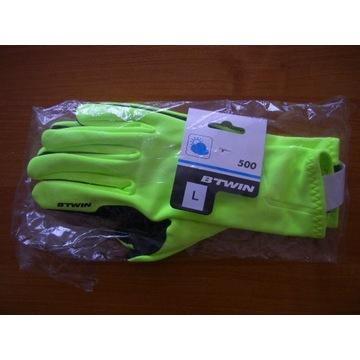 Rękawiczki zimowe na rower BTWIN 500 TRIBAN rozm.L