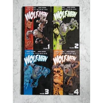 Astounding Wolf-Man 1-4 (komplet) Robert Kirkman