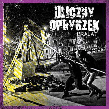 ULICZNY OPRYSZEK - Prałat LP - NOWOŚĆ-Color Vinyl