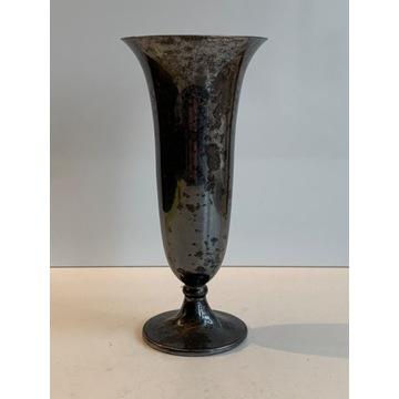 Posrebrzany wazon