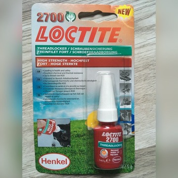 Loctite 2700 5 ml Thread Lock & uszczelniacz
