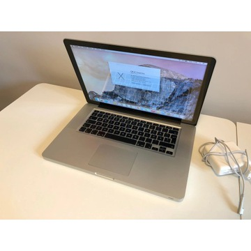 Macbook Pro 15, I5,  8 gb ram, 500 gb ssd