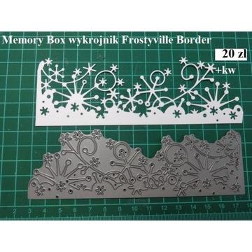 WYKROJNIK - Frostyville Border - Memory box
