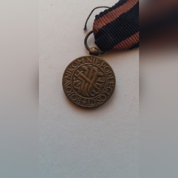 miniatura medalu niepodległosci