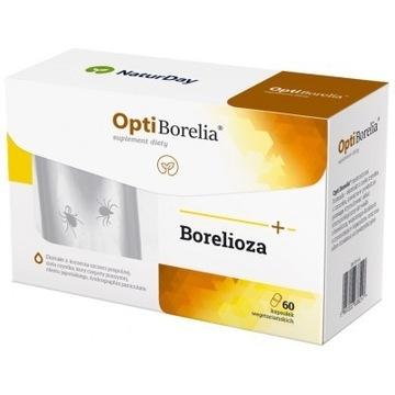 Borelioza ,odporność OptiBorelia op 60kaps