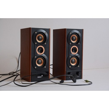 Głośniki GENIUS SP-HF 800A - lewa kolumna nie gra