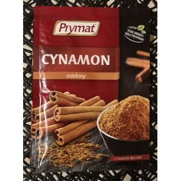 Przyprawa cynamon mielony marki Prymat 15g.