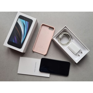 Apple iPhone SE White 64 GB używany i etui Apple