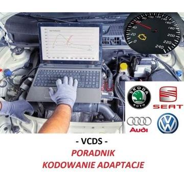 VCDS - zeszyt poradnik kodowania adaptacji VAG