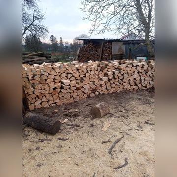 Drewno bukowe i dębowe papierówka gałęziówka