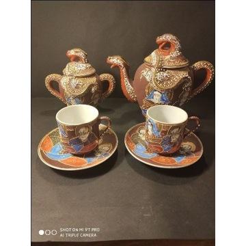Satsuma dragon do kawy, zielonej herbaty z Japonii