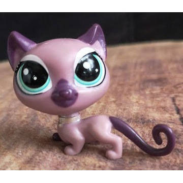 Littlest Pet Shop LPS cat kotek