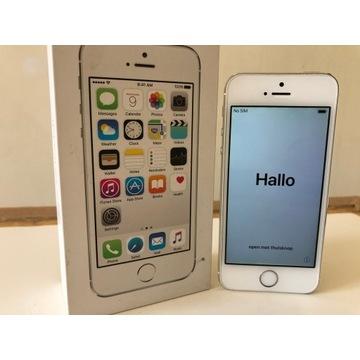 Apple iPhone 5s  16GB SILVER -  Jak Nowy