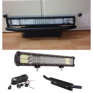 projektor barowy LED z mini bullbar + instalacja