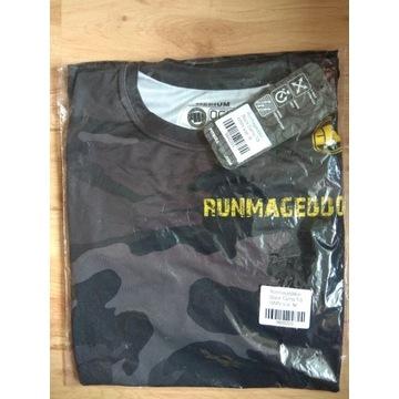 Runmageddon koszulka t-shirt sportowy moro damski