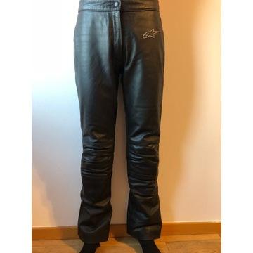 Skórzane spodnie motocyklowe ALPINESTARS