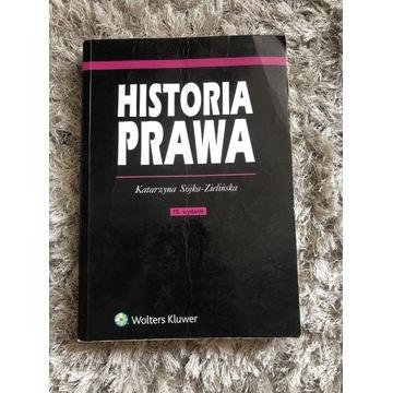 Historia Prawa Sójka-Zielińska