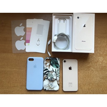 iPhone 8 rose gold złoty 64GB