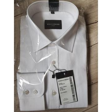 Biała koszula Wólczanka 41, 188-194