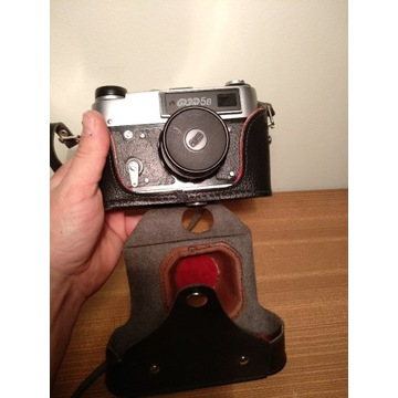 Aparat fotograficzny Fed 5B +industar 61L/D