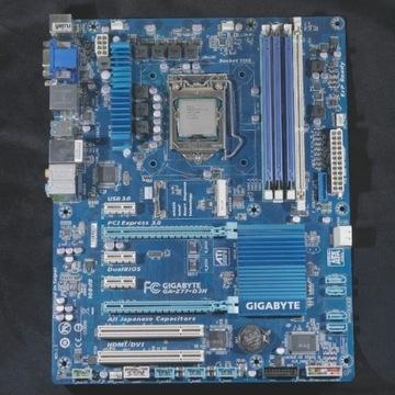 GIGABYTE Z77 + i5-3350p + 12GB DDR3 1600 MHZ