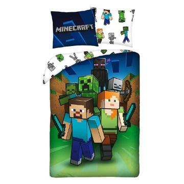 Pościel Minecraft 140x200 oryginalna.