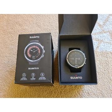 Zadbany zegarek sportowy SUUNTO 9 + gwarancja