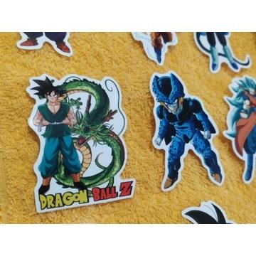 Naklejki  z serii Dragon Ball Z 25 sztuk