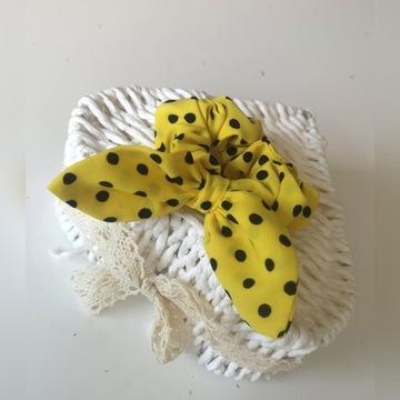 Pani Mucha gumka pszczółkowa z kokardą pinup art