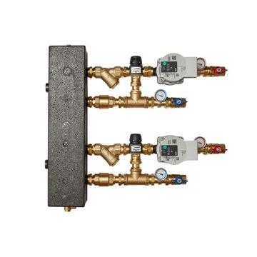 Zestaw mieszający ze sprzęgłem hydr.2xESBE VTA372