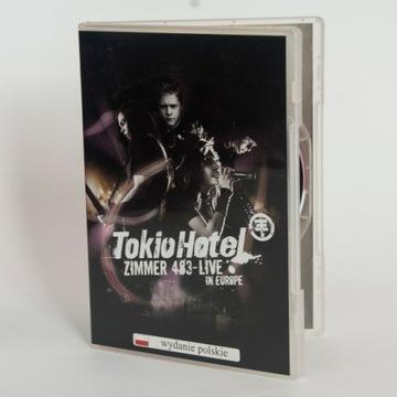 Tokio Hotel: Zimmer 483 Live in Europe, DVD