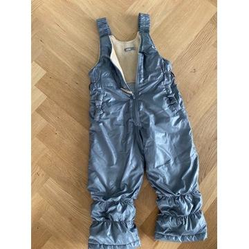 Wójcik spodnie srebrne zimowe narciarskie 104