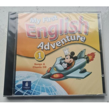 My first English Adventure 1 Song and chants CD