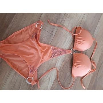 Jane norman stroj bikini monokini cyrkonie 36 38