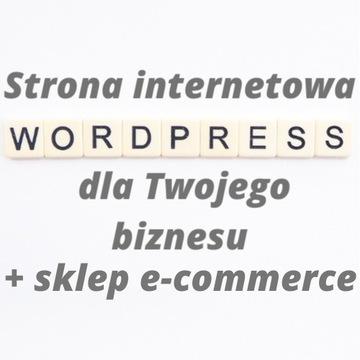 Strona internetowa firmy e-commerce