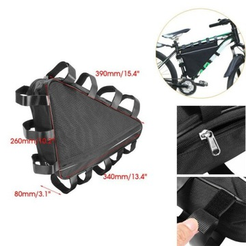 Torba rowerowa trójkątna na ramę e-bike