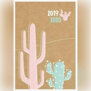 Kalendarz książkowy LIPIEC 2019 - GRUDZIEŃ 2020